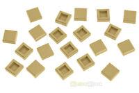 20x LEGO® 3070b 1x1 Fliese beige sandfarben NEU tan tile