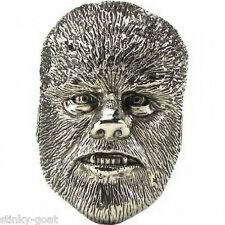 WOLFMAN 3D BeLT BUCkLE - Universal Monsters Horror Film Rockabilly Belt Buckle
