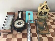 6 Vintage Weather Temperature Measuring Devices