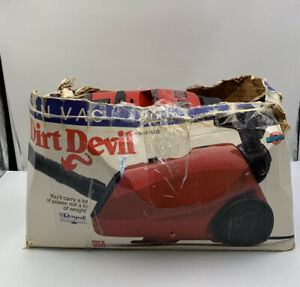 Dirt Devil Can Vac Floor Vacuum Model 2003 PREOWNED