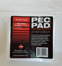 Photographic Solutions PEC PAD Photo Wipes 4x4 Inch 100 Pack - PAD44 - PHOTOSOL