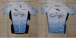 Hincapie Cycling Shirt Size Jersey Google Cycle Camiseta Vintage