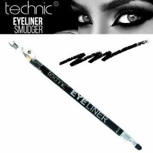 Technic Black EYELINER Pencil Smudger & Sharpener Smokey Contour Cruelty Free