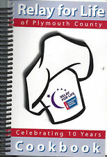 *LE MARS IA *RELAY FOR LIFE *PLYMOUTH COUNTY COOK BOOK *CELEBRATING 10 YEARS