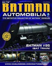 Dc Batman Automobilia Figurine #74 Batman #95 Train Eaglemoss