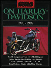 CYCLE WORLD ON HARLEY-DAVIDSON 1990-1992, NEW 1996 BROOKLANDS BIKE BOOK ON SALE