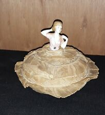 antique german pin cushion half doll