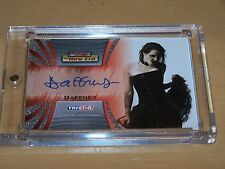 TNA 2010 The New Era Trading Card by Tristar - Daffney Autograph - Silver - A42