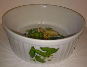 Ceramic Casserole Cookware Styson Japan Mid Century Mushroom Artichoke Onion Pea