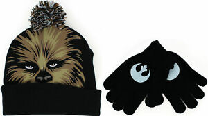 Star Wars Chewbacca Kids Knit Hat and Gloves Set