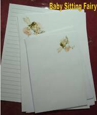 Rose Fairy letter writing stationery set with matching envelopes 8+4 Stationery, Writing Paper & Sets