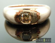 .51ct Natural Brown SI2 Cushion Diamond Gent's Ring GIA R6836 Diamonds by Lauren
