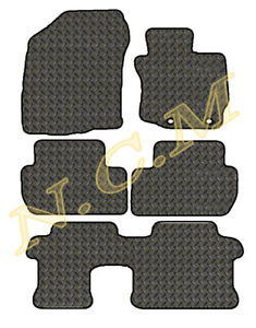 MITSUBISHI OUTLANDER 2013> Automatic 7 seat version RUBBER CAR MAT FULLY TAILORD