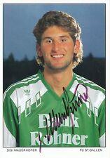 Sigi Mauerhofer  FC St.Gallen  Autogrammkarte original signiert 297391
