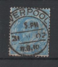 V599 Engeland 107 gestempeld