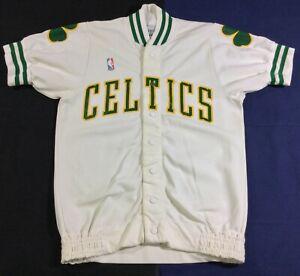 Rare Vintage Boston Celtics Basketball Sand-knit Jersey Size36