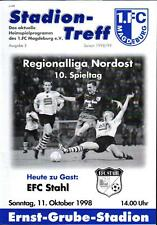 RL 1998/99 1. FC Magdeburg - EFC Stahl, 11.10.1998