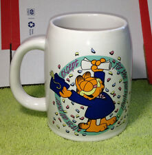 Enesco Garfield Graduation Mug Stein It's all over except the partying!