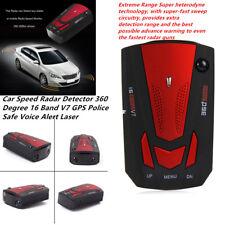 Powerful Car Speed Radar Detector 16 Band V7 GPS  Safe Voice Alert Laser