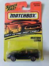 MATCHBOX MUSTANG COBRA #71 ACTION SYSTEM DIECAST 1:64 SCALE NEW ON CARD!