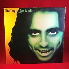 ALICE COOPER Goes To Hell 1976 UK VINYL LP RECORD EXCELLENT