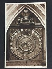 Vintage Postcard: Kent: #T29: Wells, Lightfoots Clock At Cathedral: Posted 1949