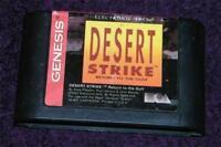 SEGA GENESIS game Desert Strike cartridge only free ship