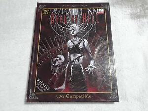 D20 D&D v3.5  RPG Book Of Hell Mongoose Publishing