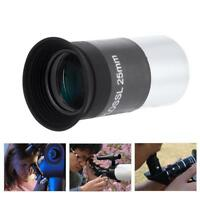 "1.25""/31.7mm Plossl 25mm Eyepiece Lens Multi-coated for Astronomy Telescope SP"