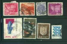 8 Israel Postage Stamps Collection  TEN75