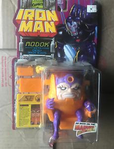 TOY BIZ MODOK - ENERGY BLASTS IRON MAN - a 1995 marvel legend