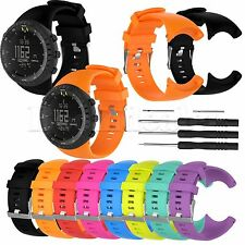 Replacement Silicone Wristband Strap for SUUNTO CORE Military Men Sports Watch