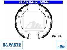 BRAKE SHOE SET, PARKING BRAKE FOR VOLVO ATE 03.0137-0260.2