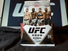 2020 Topps UFC Trading Cards Factory Sealed Possible Autographed cards