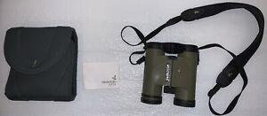 Swarovski Habicht SLC 8x30 WB Green Binoculars With Case And Cleaning Cloth