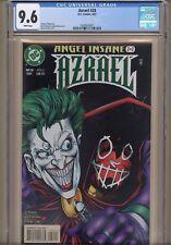 Azrael #28 CGC 9.6 Highest Graded copy!  Joker cover Denny O'Neil writer batman