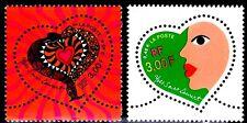 SELLOS FRANCIA 2000 3295/96 St Valentin de Yves St Laurent 2v.
