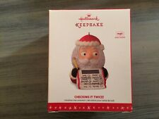 HALLMARK 2016 CHECKING IT TWICE MAGIC KEEPSAKE CHRISTMAS ORNAMENT MINT