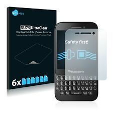 6x Savvies Screen Protector for BlackBerry Q5 Ultra Clear