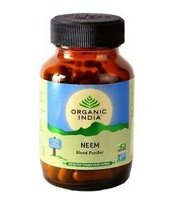 Organic India Neem Capsules Free Shipping (60 Caps) 0867