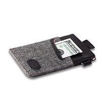 Ebax Minimalist Slim Wallet & Front Pocket Credit Card Holder for Men & Women