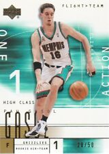 2001-02 Upper Deck Flight Team Gold #138 Pau Gasol 28/50 Memphis Grizzlies