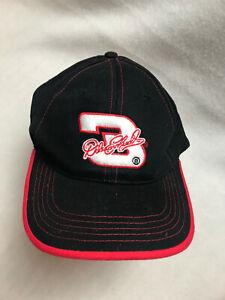 Dale Earnhardt Kids Embroidered Hat Adjustable Black Red NEW