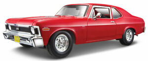 1:18 Scale 1970 Chevy Nova SS - Red