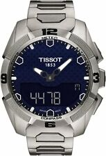 T0914204404100 T-Touch Experts Solar Men's Watch Quartz Digital titanium