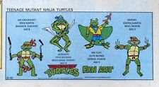 Teenage Mutant Ninja Turtles - full color Sunday comic page - December 22, 1991