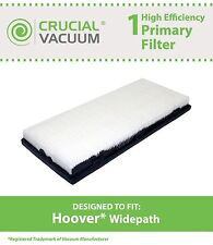 1 Hoover Widepath Filter Fits Widepath & Powermax, Part # 43613-026 & 40110008