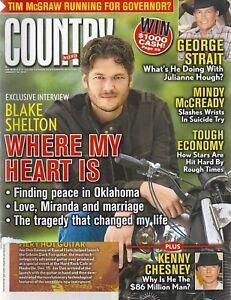 Country Weekly Magazine January 26 2009 Blake Shelton Marty Stuart Larry Gatlin