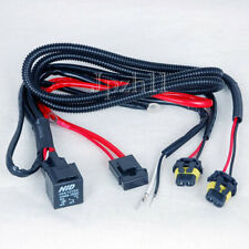 Car HID Xenon Light H8/H9/H11 Bulbs Relay Fuse Cable Wire Wiring Harness 35W/55W
