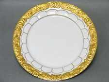 Meissen X Form Kuchenteller Top Zustand Goldbronze 19,5 cm